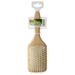 Hair brush wooden beech,...