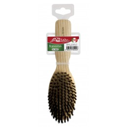 Hair brush wood ash, oval,...
