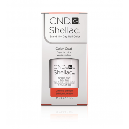 Shellac nail polish - CREAM PUFF