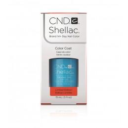 Shellac nail polish - CERULEAN SEA CND - 1