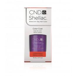 Shellac nail polish - GRAPE GUM CND - 1