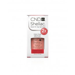 Shellac nail polish - SALMON RUN CND - 1