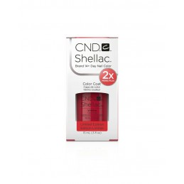 Shellac nail polish - WILDFIRE