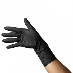 Black gloves 100 pcs