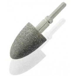 Fine grain sapphire cone...