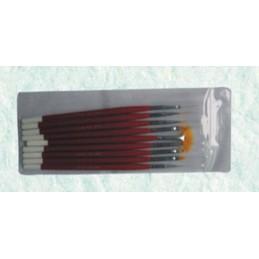 Brush kit, 9 pcs