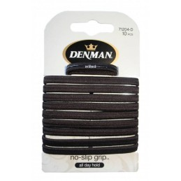 10 pk No Slip Elastics Brown