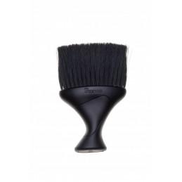 Šepetys plaukų nuvalymui nuo kliento kaklo