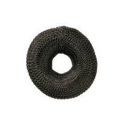 Comair Bun Rolls round 8cm Black