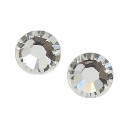 Round shape Swarovski crystals, 10 pcs.