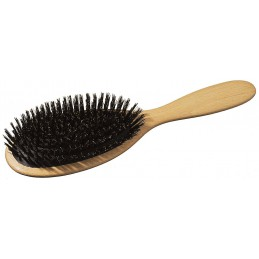 Hair brush with cushioning...