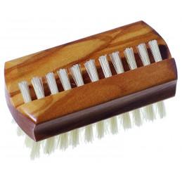 Travel hand and nail brush,...