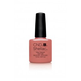 Shellac nail polish - CLAY...