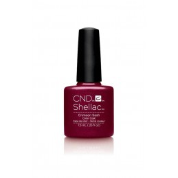 Shellac nail polish - CRIMSON SASH