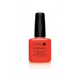 Shellac nail polish - ELECTRIC ORANGE