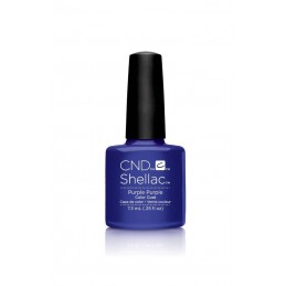 Shellac nail polish - PURPLE PURPLE