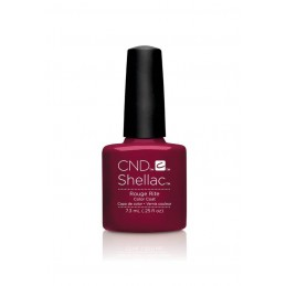 Shellac nail polish - ROUGE RITE